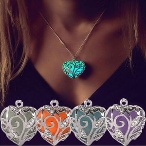 Jewelry - Magic Fairy Glow In Dark Heart Locket Necklace
